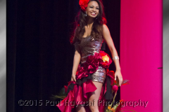 April-May Smith @ 2015 Miss Latina Hawaii Scholarship Pageant