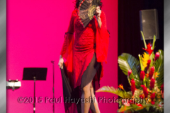 Decembers Smith @ 2015 Miss Latina Hawaii Scholarship Pageant