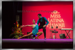 2015 Miss Latina Hawaii Scholarship Pageant - Emily Hodges & Stefan Kant