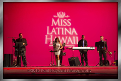 2015 Miss Latina Hawaii Scholarship Pageant Son Caribe Band