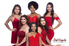 2018 Miss Latina Hawaii Contestants - ©2017 Paul Hayashi Photography - All Rights Reserved