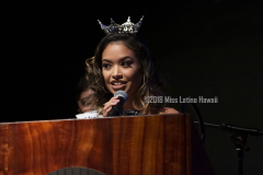 2018 Miss Latina Hawaii Shay-Lynn Mohika-Farias